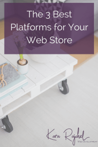 Want to start selling your products online in your very own web store or ecommerce site? Check out these 3 awesome options to get your web store up and running in no time. via @kararajchel