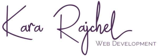 Kara Rajchel | Web Development | Web Design | Front-end Design | Front-end Development | WordPress Development
