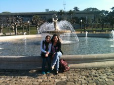 With Gracie at Golden Gate Park
