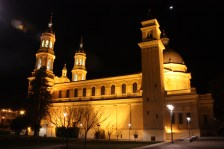 The St. Ignatius Church on campus--such a beauty!