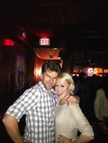 Only pic of us- blurry!