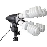 4 Socket Fluorescent Fixture