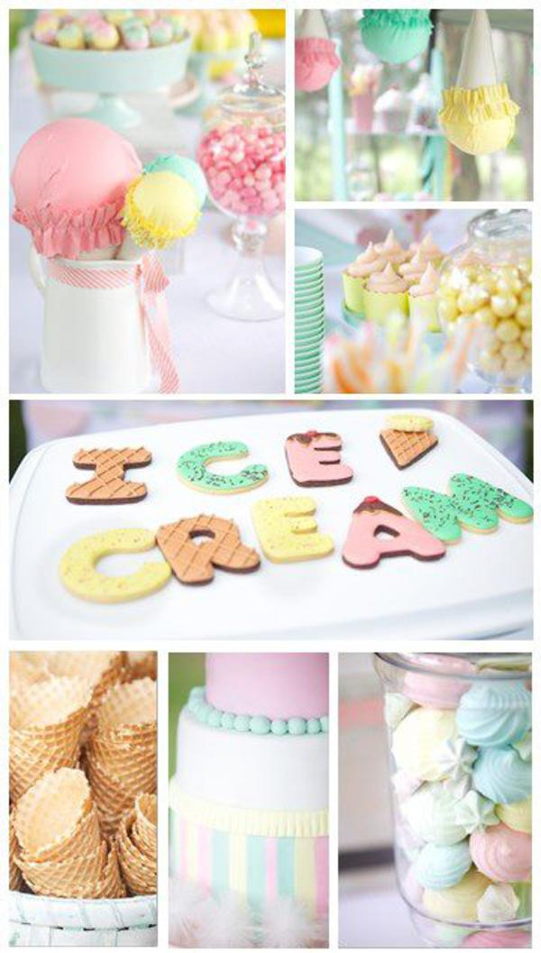 Karas Party Ideas Ice Cream Shoppe Summer Girl Boy Party