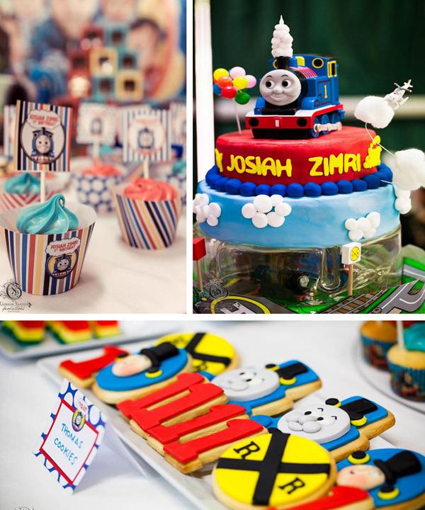 Kara S Party Ideas Thomas The Train Birthday Party Planning Ideas Supplies Idea Cake