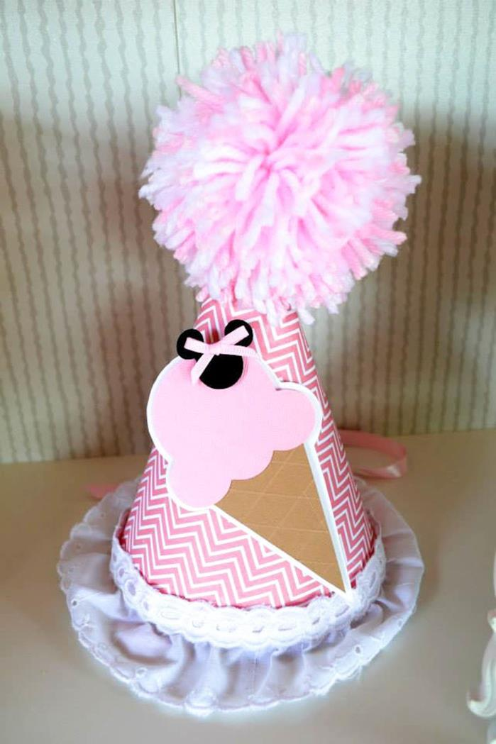 Kara S Party Ideas Minnie Mouse Ice Cream Party Full Of