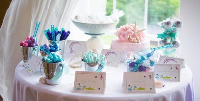 Birthday Invitations Under Sea