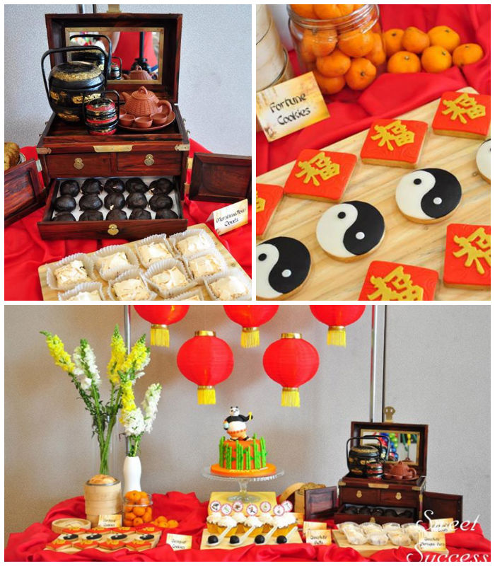 Karas Party Ideas Chinese Inspired Kung Fu Panda Themed