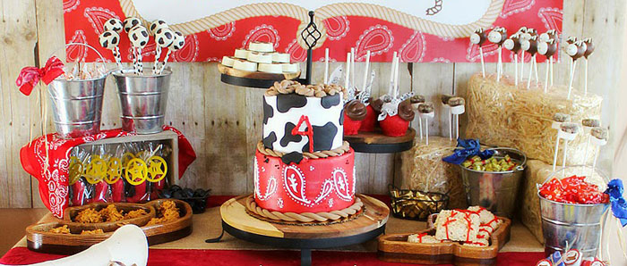 Kara S Party Ideas Cowboy Roundup Birthday Party Ideas Decor Planning Cake