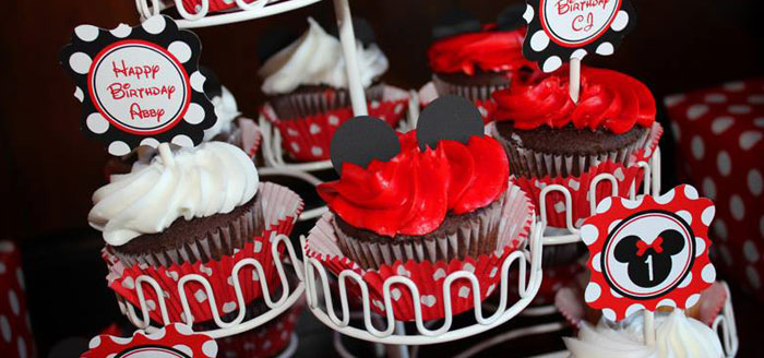 Kara S Party Ideas Mickey Amp Minnie Mouse Themed First