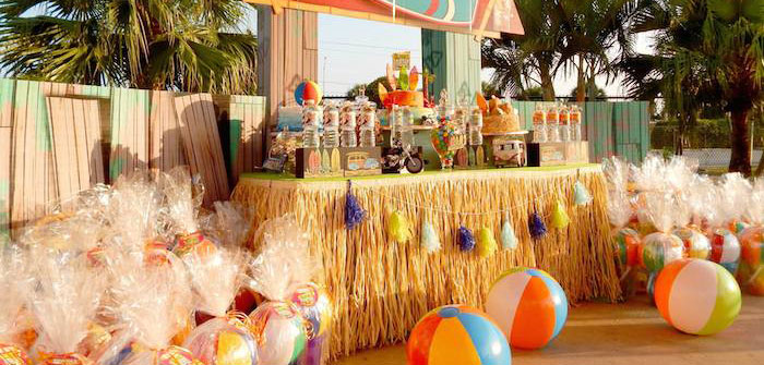 Kara's Party Ideas Disney's Teen Beach Movie Themed