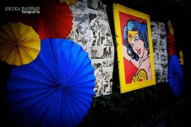 Wonder Woman Themed Birthday Party With Lots Of Really Cute Ideas Via Kara 39 S