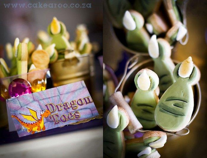 Kara S Party Ideas Knight Amp Dragons Themed Birthday Party