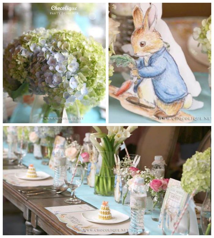 Karas Party Ideas Peter Rabbit Themed Baby Shower Via
