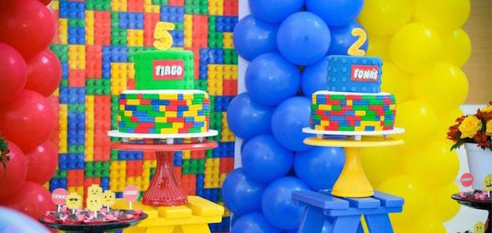 Kara S Party Ideas Lego Joint Birthday Party