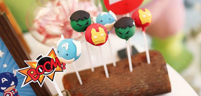 Kara S Party Ideas Cars And Avengers Joint Birthday Party