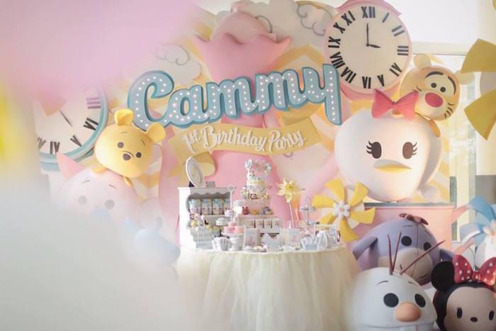 Kara S Party Ideas Disney S Tsum Tsum Inspired Birthday Party