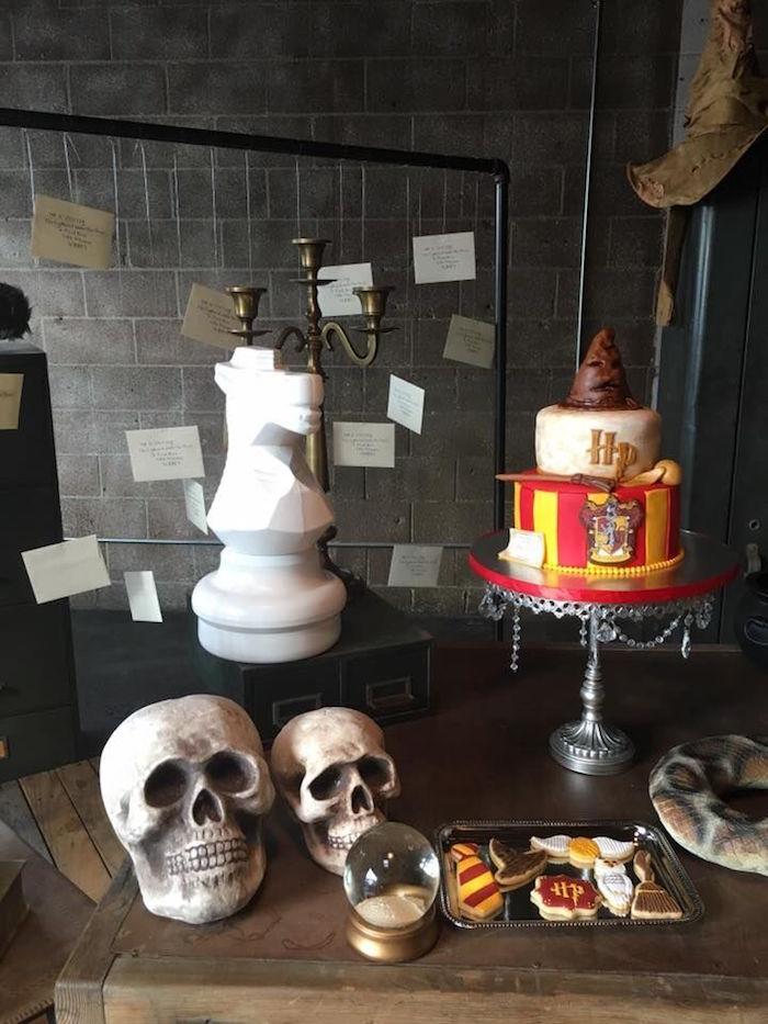 Karas Party Ideas Hogwarts Harry Potter Birthday Party Karas Party Ideas