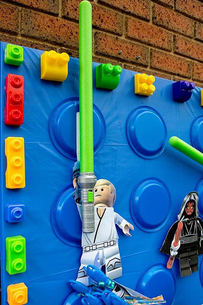 Kara S Party Ideas Star Wars Lego Birthday Party Kara S