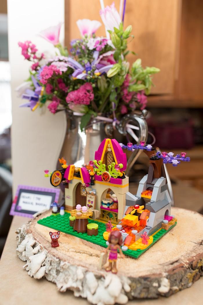 Karas Party Ideas Girl Themed Lego Elves Party Karas