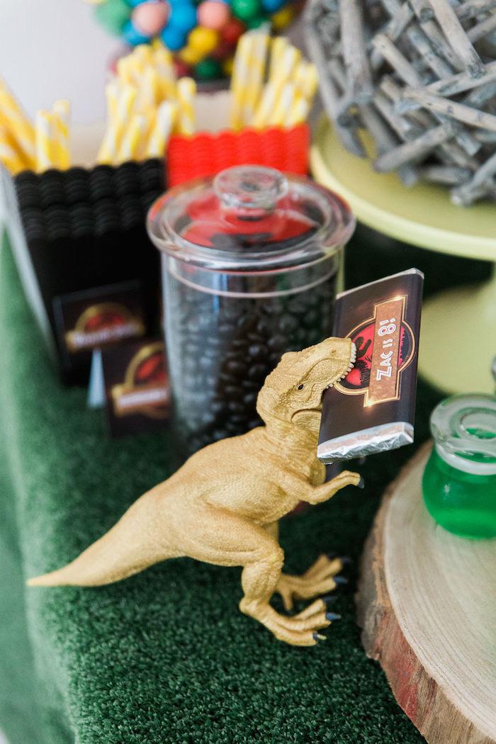 Karas Party Ideas T Rex Dinosaur Themed Birthday 2