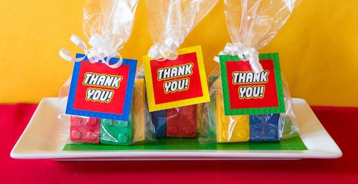 Karas Party Ideas Lego Inspired Teacher Appreciation