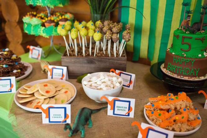 A Dinosaur Party B Lovely Events