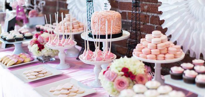 Kara S Party Ideas Pink Paris 1st Birthday Party Kara S Party Ideas