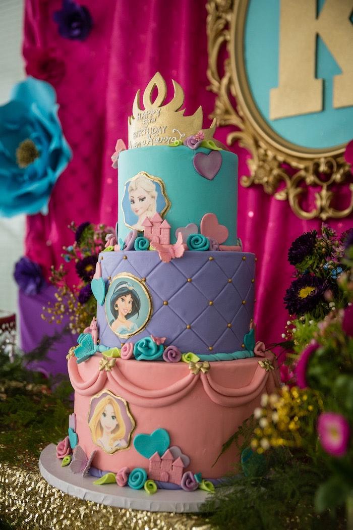 Kara S Party Ideas Princess Royal Ball Birthday Party Kara S Party Ideas
