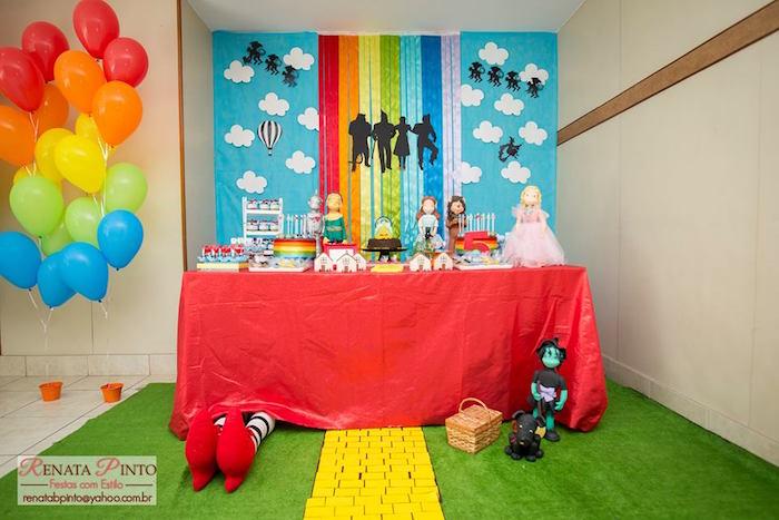Birthday Wizard Oz Party