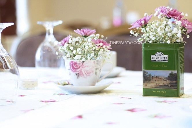 Colourful 8 Bit Themed Afternoon Tea Wedding Weddbook