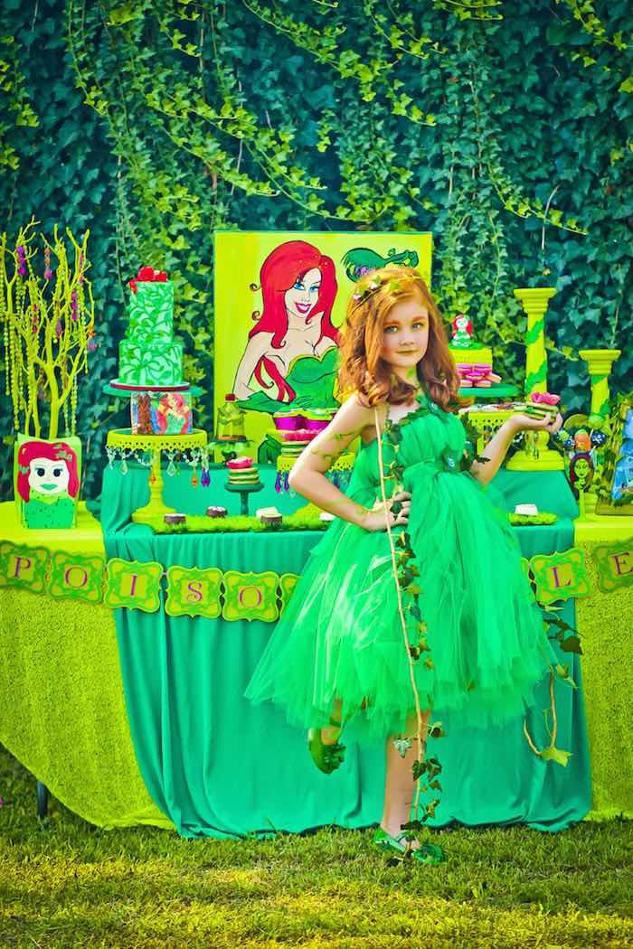 Kara S Party Ideas Poison Ivy Birthday Party Kara S