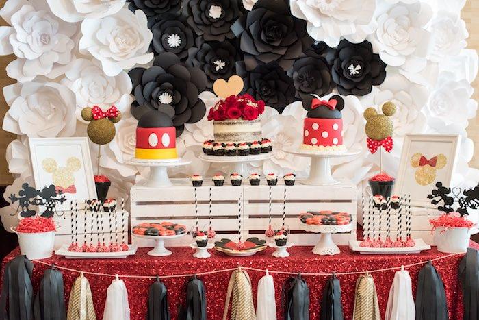 Diy Birthday Party Table Centerpieces