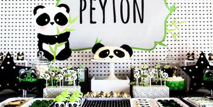 Karas Party Ideas Panda Bear Panda Monium Birthday
