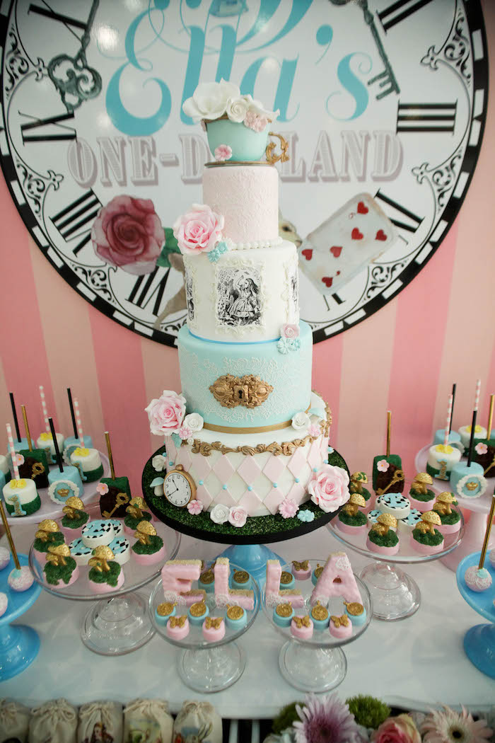 Kara S Party Ideas Alice In Wonderland Birthday Party Kara S Party Ideas