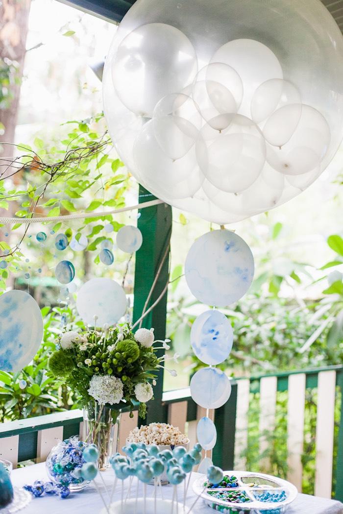 Kara S Party Ideas Bubble Birthday Party Kara S Party Ideas