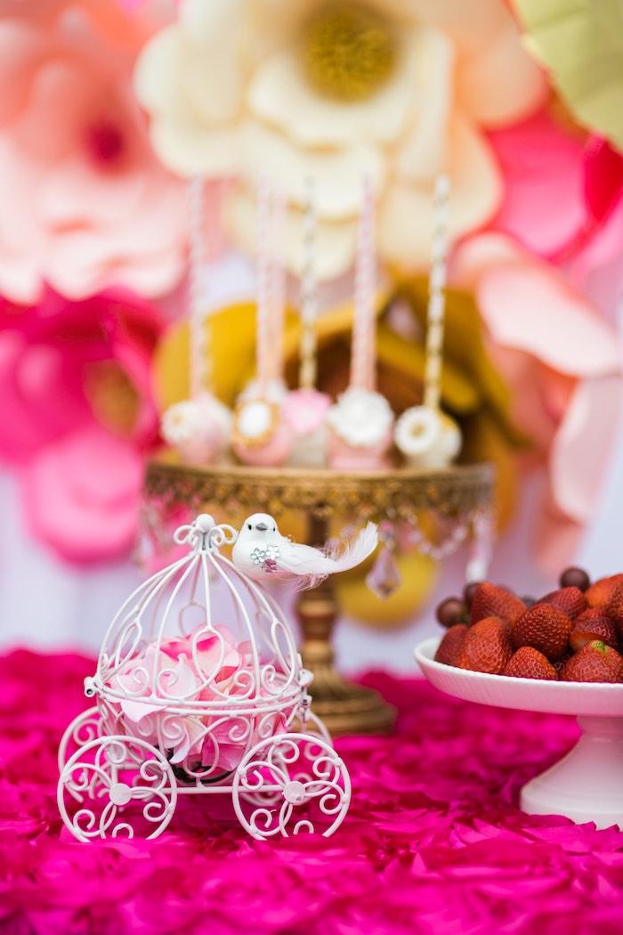 Karas Party Ideas Pink Amp Gold Garden Tea Party Karas Party Ideas
