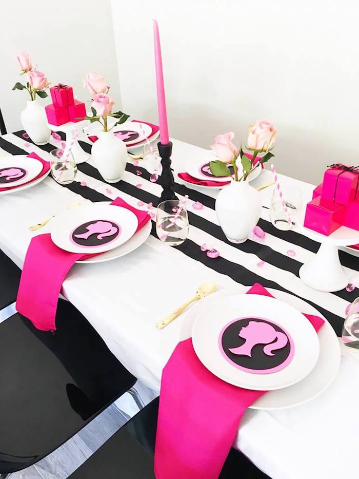 Kara S Party Ideas Glam Barbie Birthday Party Kara S