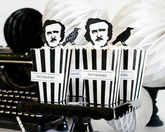Karas Party Ideas Edgar Allan Poe Inspired Halloween