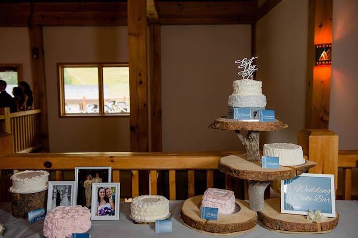 Kara's Party Ideas Rustic Chic Mountain Wedding