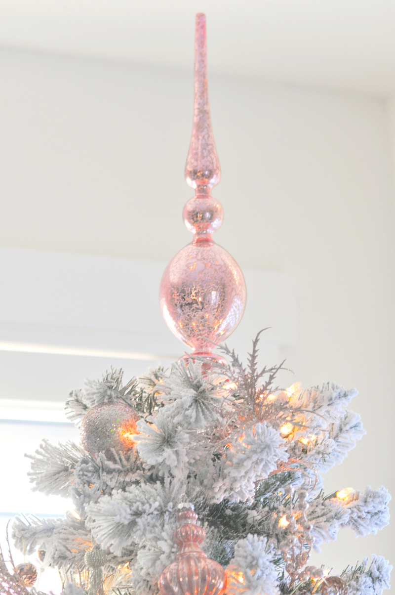 Karas Party Ideas Blush Pink Vintage Inspired Tree