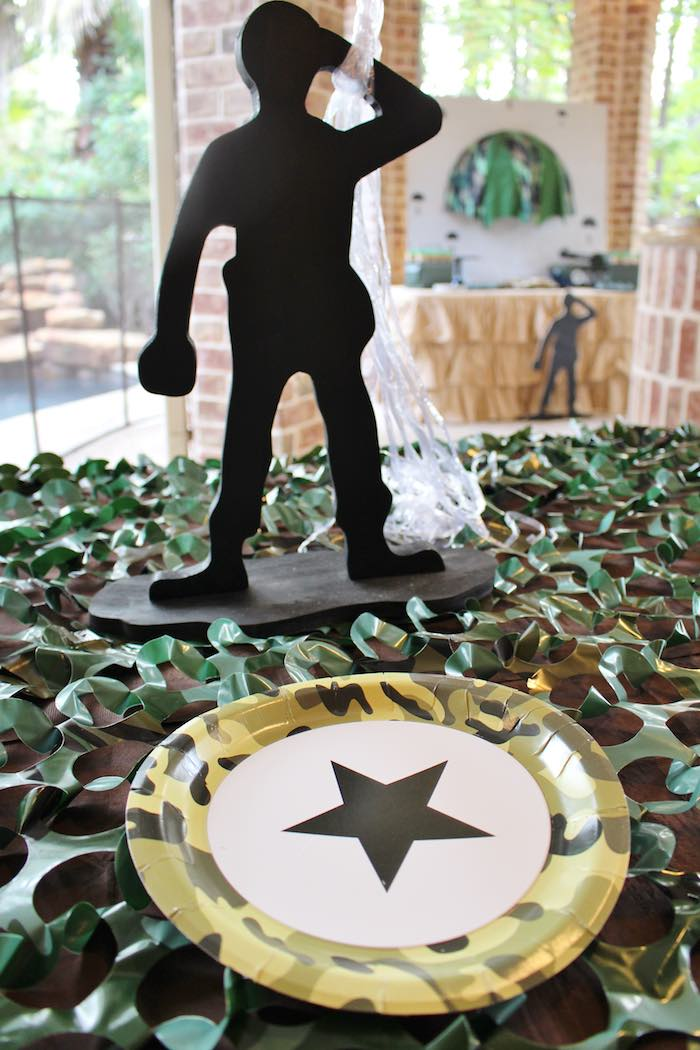 Kara S Party Ideas Military Toy Soldier Birthday Party