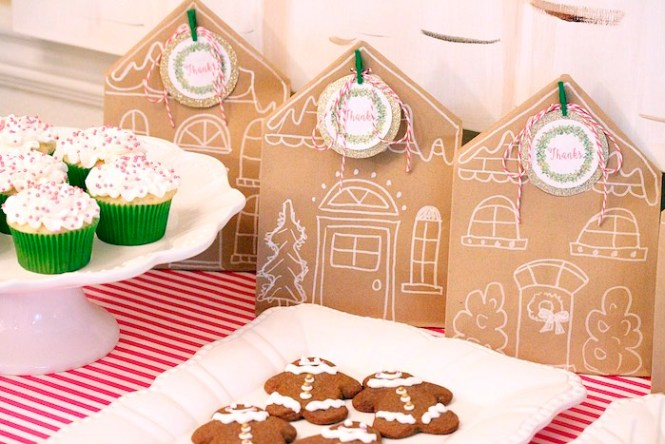 North Pole Peppermint Sticks Gingerbread Decorating Kit 2 Party Ideas