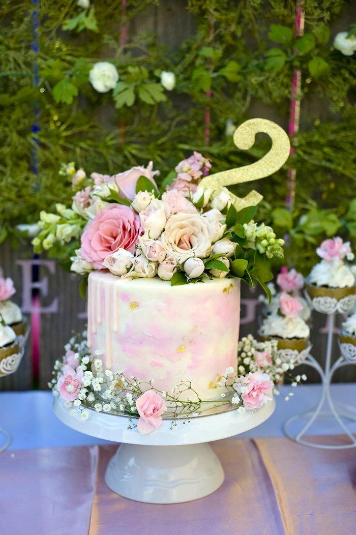 Kara S Party Ideas Secret Garden 2nd Birthday Party Kara