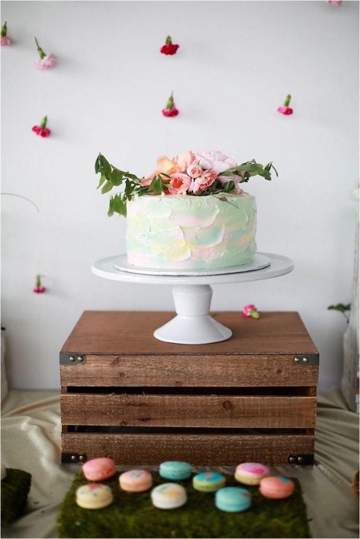 Kara S Party Ideas Boho Wildflower Birthday Party For