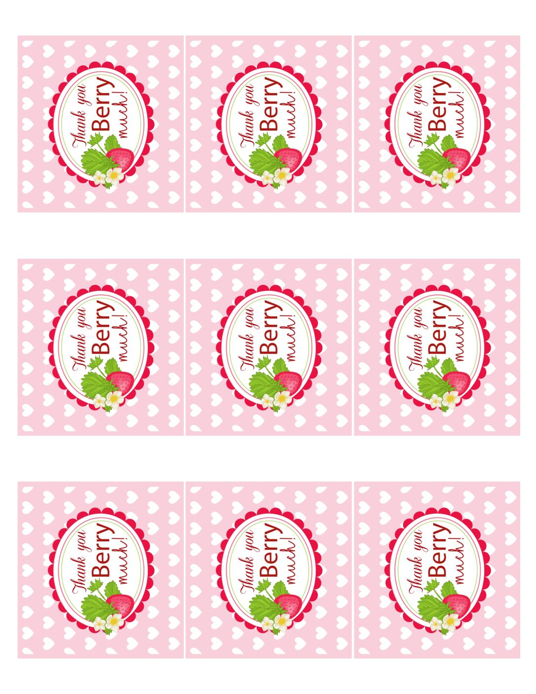 Kara S Party Ideas Berry Sweet Strawberry Valentine S Day Party Free Printables