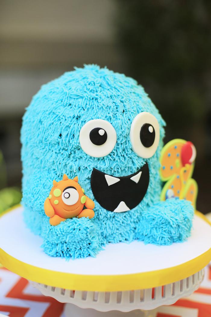 Kara S Party Ideas Darling Little Monster Birthday Party Kara S Party Ideas