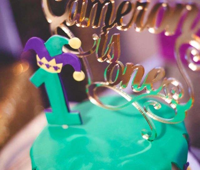 Karas Party Ideas Mardi Gras Birthday Party