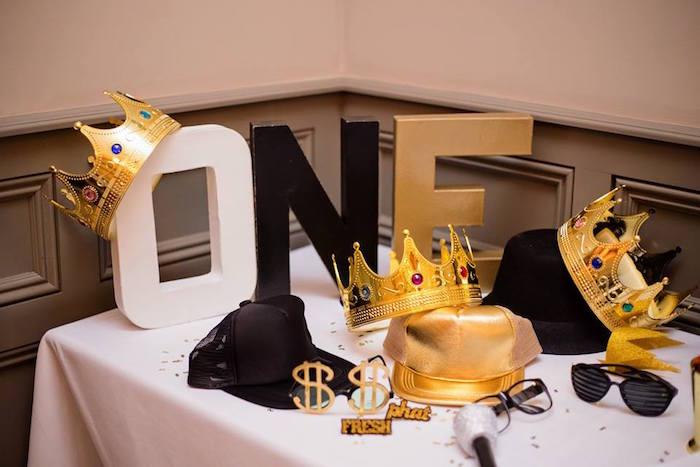 Kara S Party Ideas Notorious B I G First Birthday Party