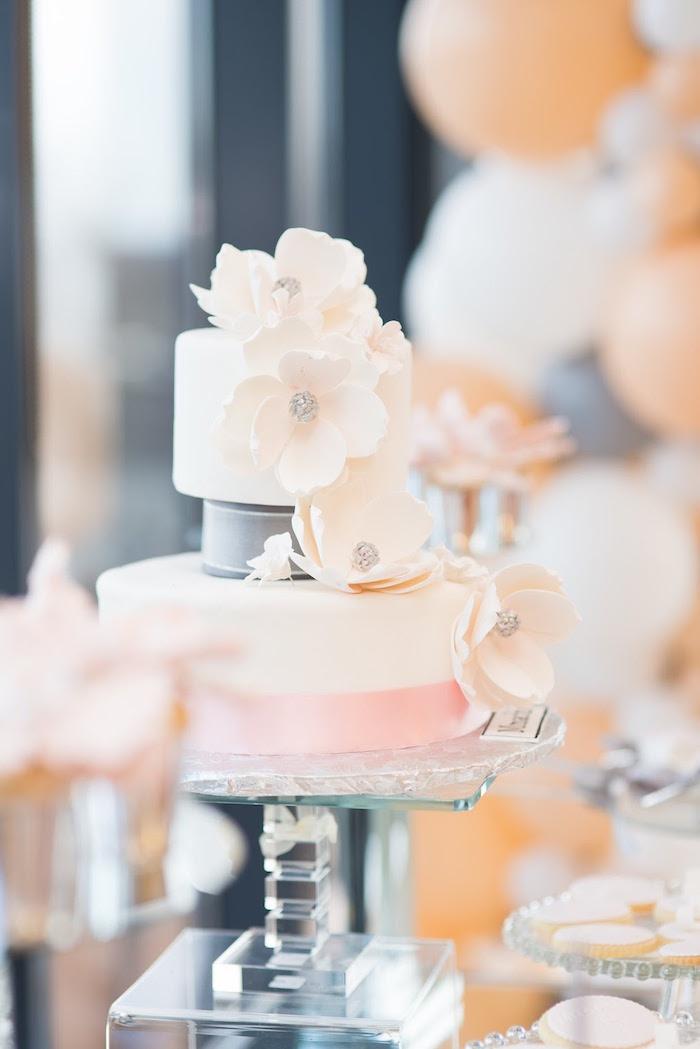 Kara S Party Ideas Elegant Dior Inspired Birthday Party