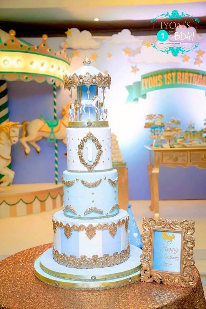Baby Boy Cakes 1st Birthday